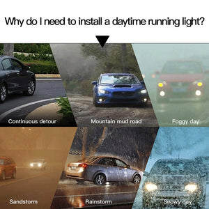 Ultrafine LED Daytime Running Lights (2 PCS) - kebelodirect
