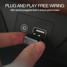 Load image into Gallery viewer, Mini LED USB Car Light Atmosphere - kebelodirect