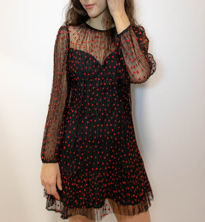 LILA HEART DRESS