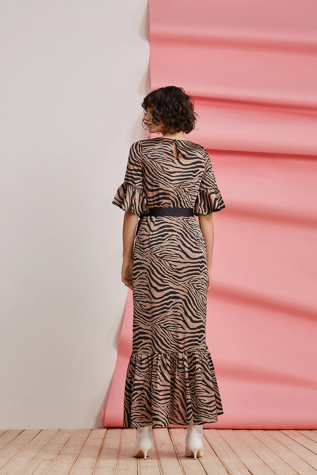 BILLIE ZEBRA DRESS