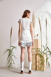 LILIA EMBROIDERED DRESS