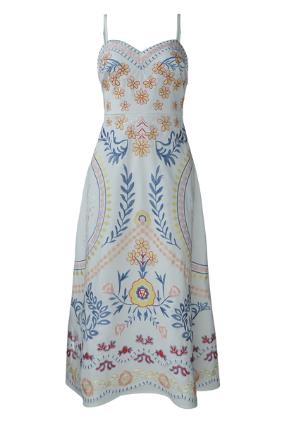 ARTEMISIA EMBROIDERY DRESS