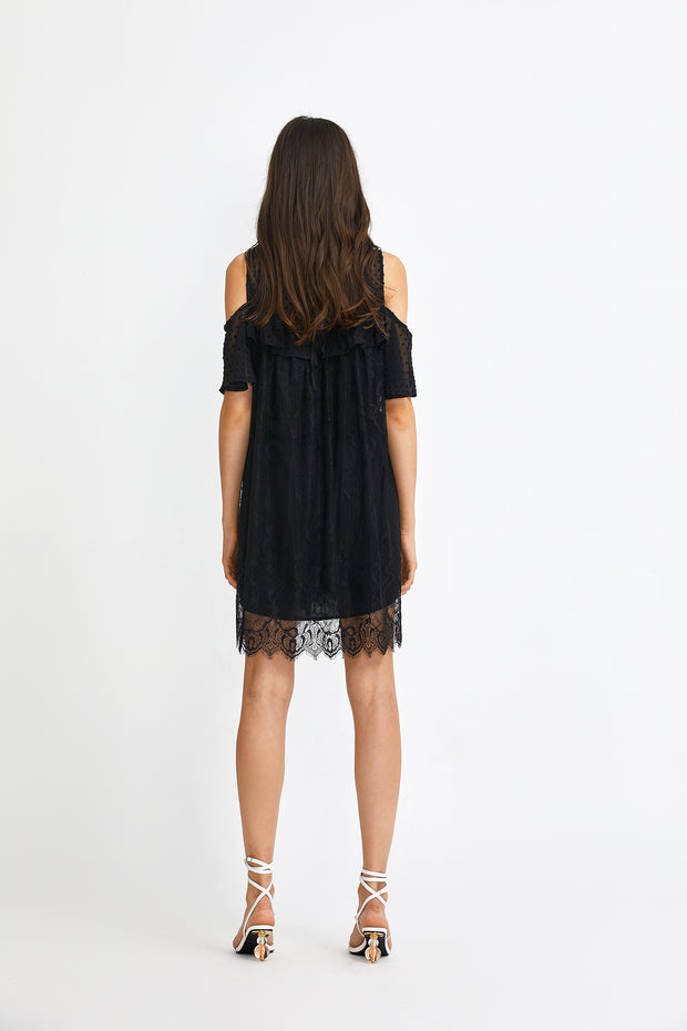 BABETTE COLD SHOULDER DRESS