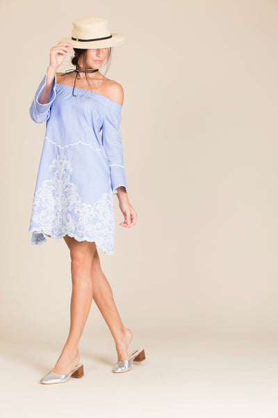 Marybell Embroidered Dress