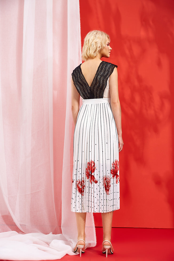HERA PLEATED DRESS