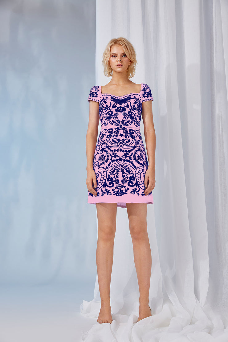 JEANA EMBROIDERED DRESS