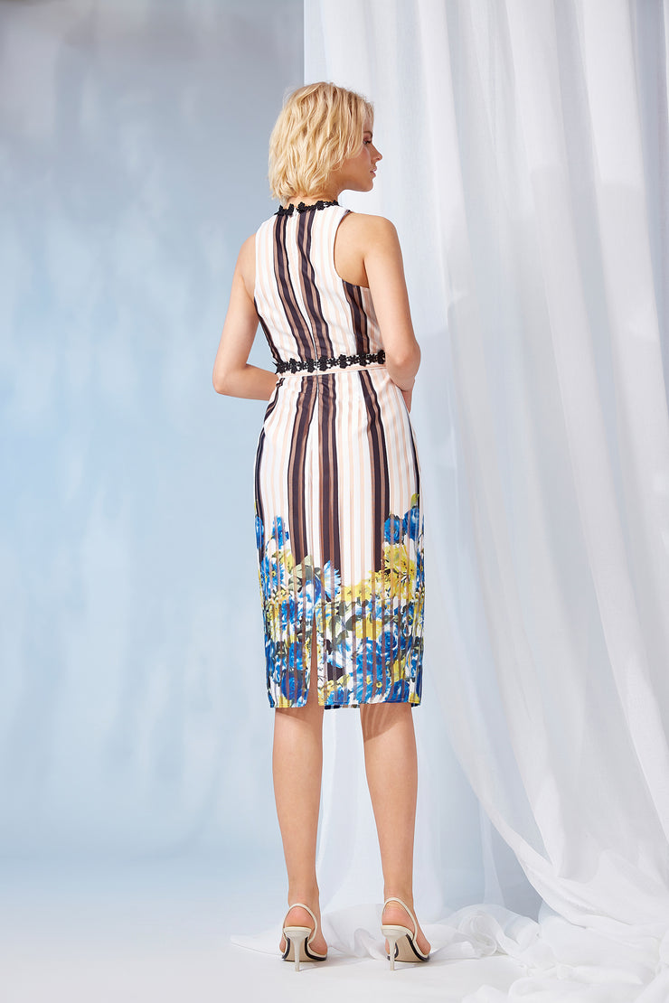 ELDORA HALTER DRESS