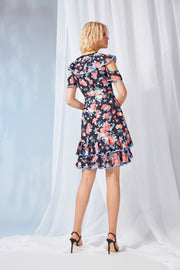 DARLENE  TIERED DRESS