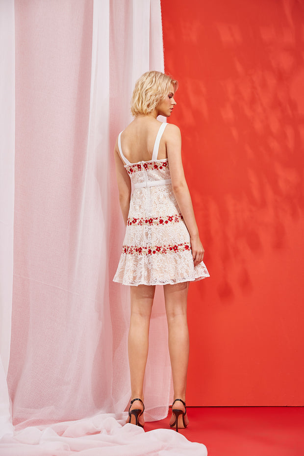 PALOMA EMBROIDERED DRESS