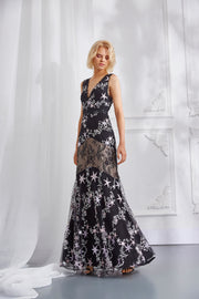 ASTRA EMBROIDERED GOWN