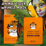 Animal Tiger Wrinkle Mask 10ea