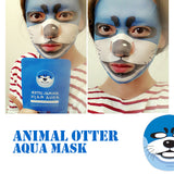 Animal Otter Aqua Mask 10ea