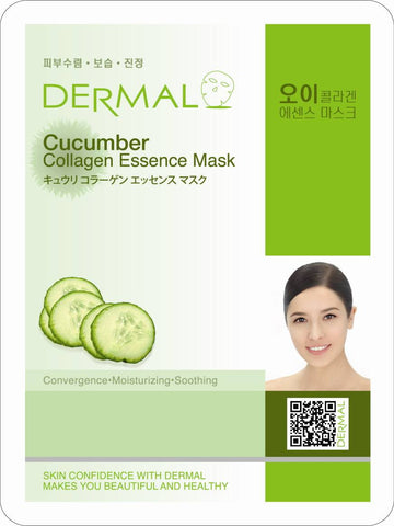 Dermal Cucumber Collagen Essence Mask 23g