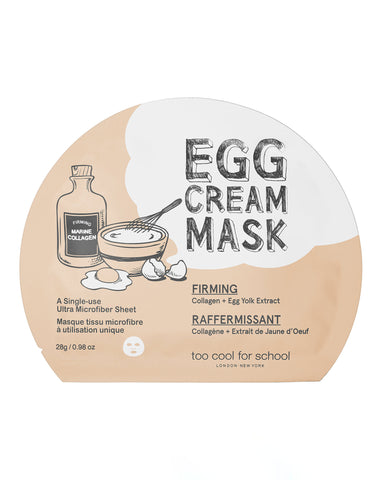 Too Cool for School Egg Cream Mask- Firming 28g