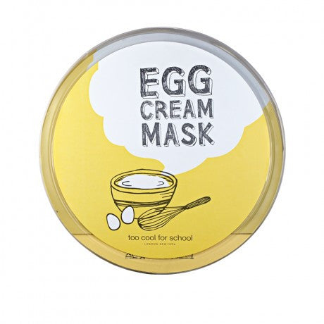 Too Cool for School Egg Cream Mask- Hydrating 28g