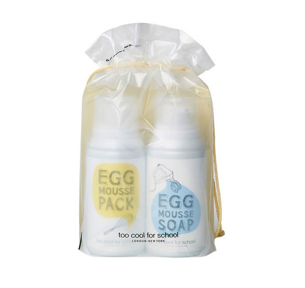 Egg Mousse Pack & Soap Special Duo (50ml/70ml)