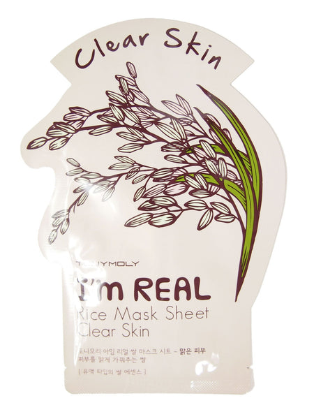 I'm Real Rice (Clear Skin) Mask 21g