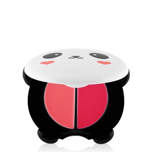 TONYMOLY Panda's Dream Dual Lip & Cheek 02 Pink Baby [1.7g x 2]