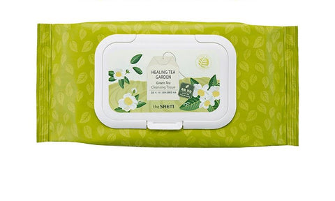 The Saem Healing Tea Garden Cleansing Tissue (Green Tea) 20 Sheets