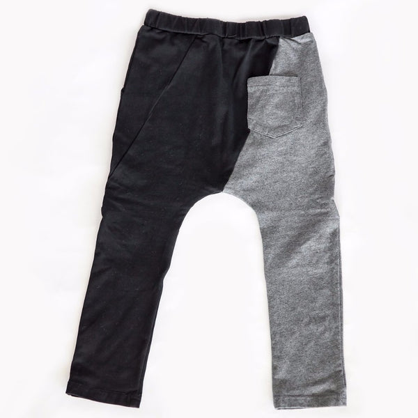 Grey/Black Slant Harems