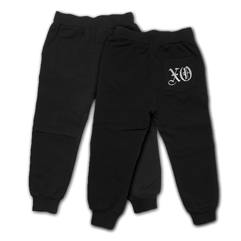 XO Knee Cut Sweatpants