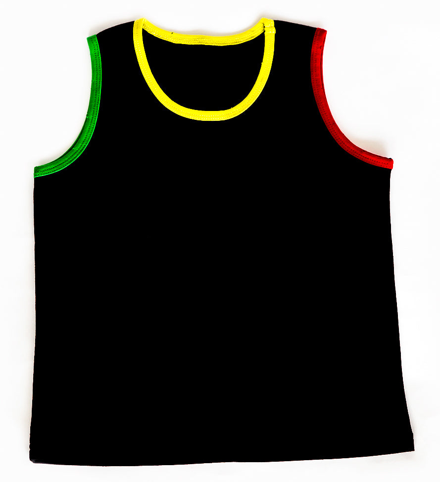 Rasta Tri Color Tank Top