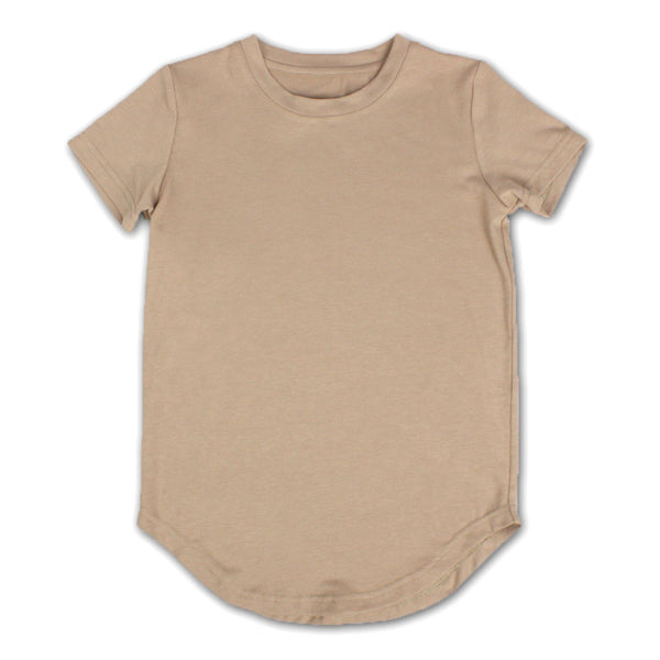 Sandy Curved Bottom T-shirt