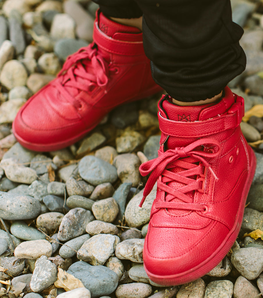 KINGSTON RED SNEAKERS