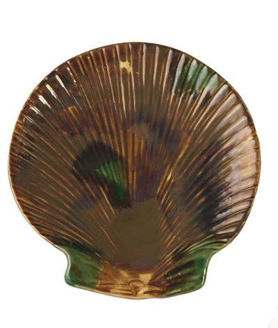 Garden Party Shell Plates-- Set of 4 - Palme d'Or