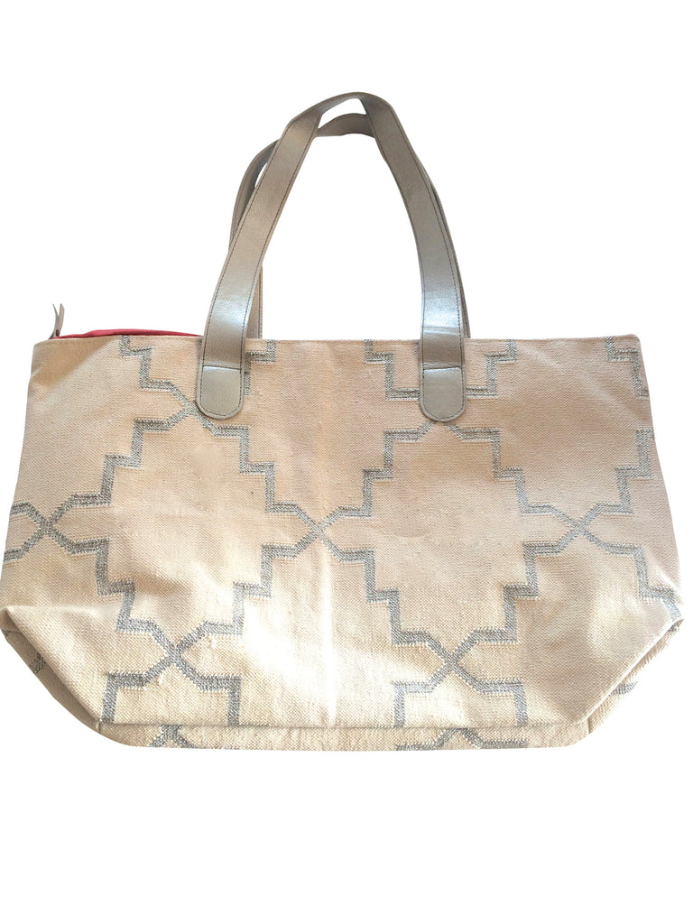 Marissa Tote in Snow - Palme d'Or