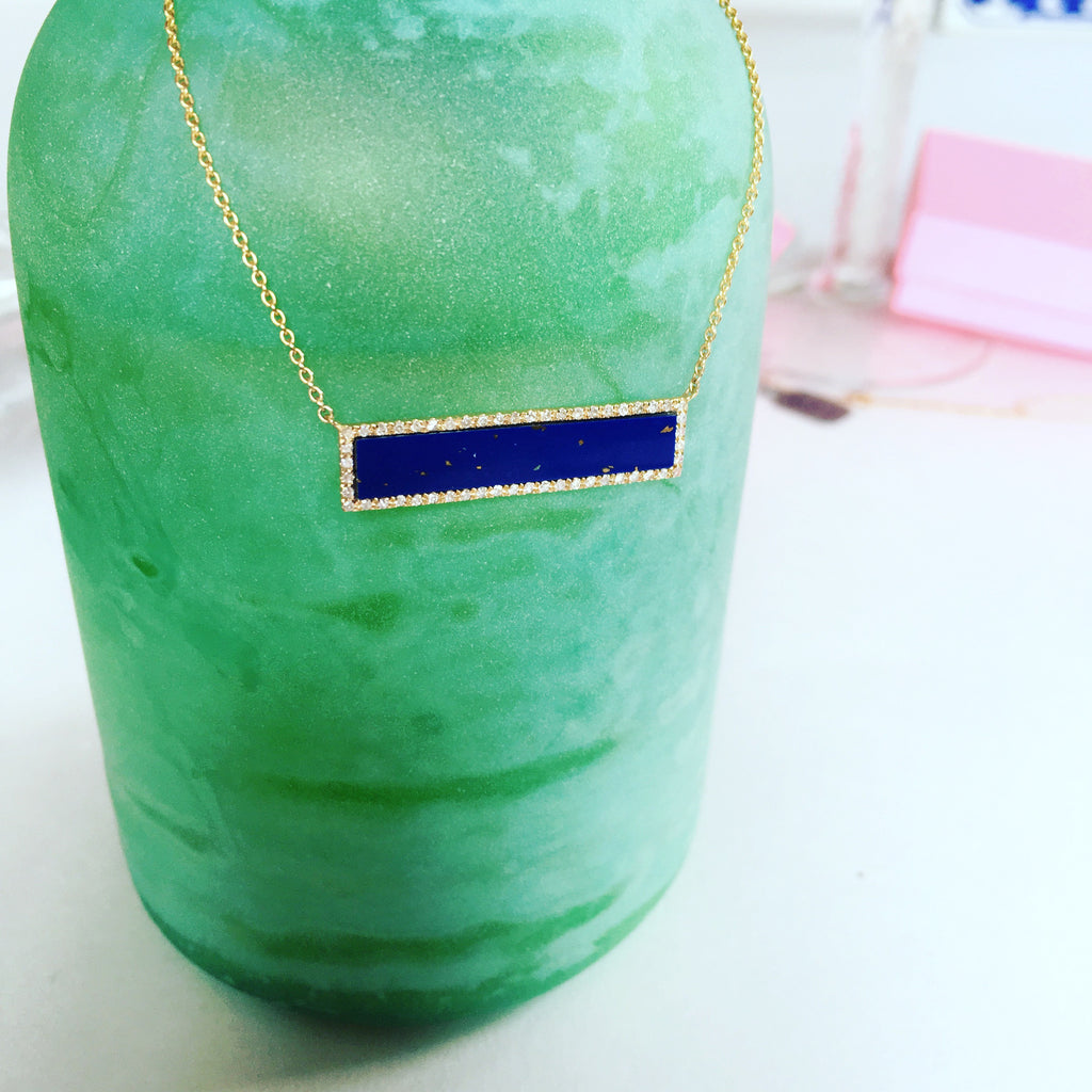 Milos Lapis Necklace - Palme d'Or