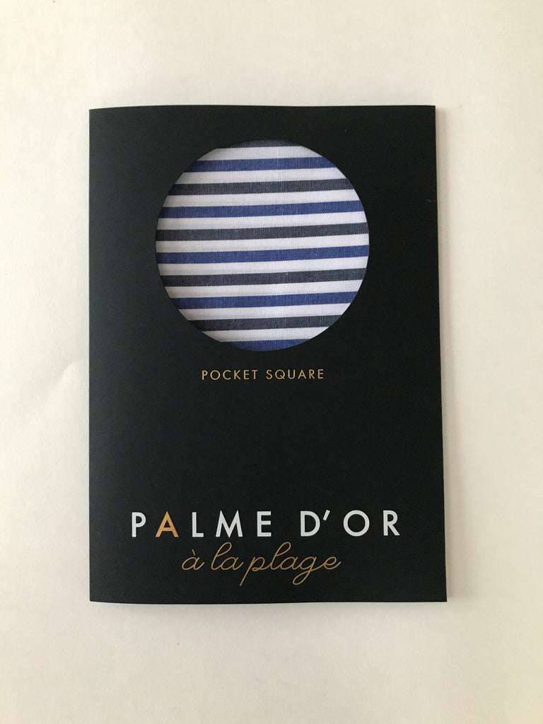 Canal Pocket  Square - Palme d'Or