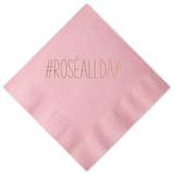 Rosé  All Day Cocktail Napkins - Palme d'Or
