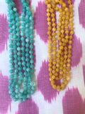 Cloud Hand-Knotted Beads