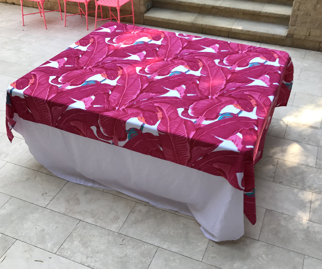 Palm Drive TABLECLOTH - Palme d'Or