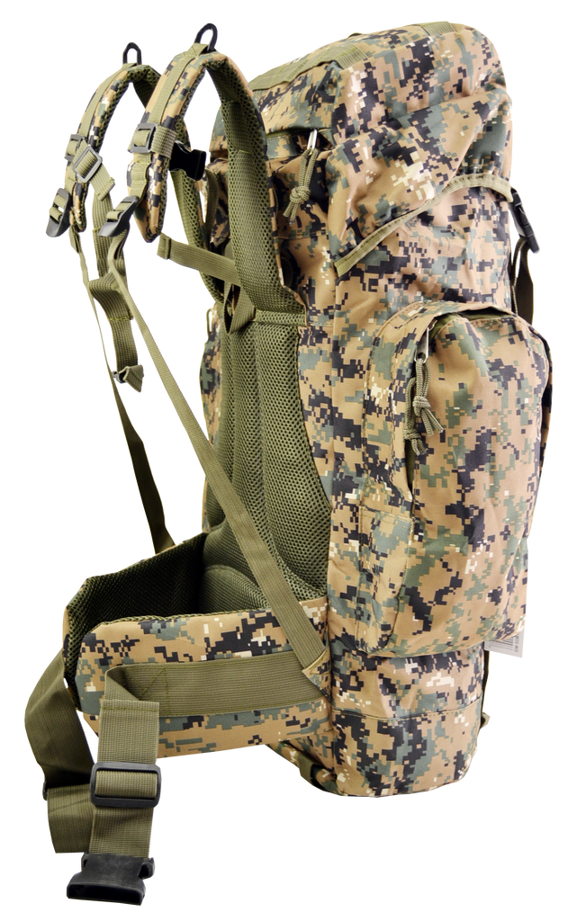 Large Hiking Tactical Military Backpack Camping 45 Liters - TACTICAL R US