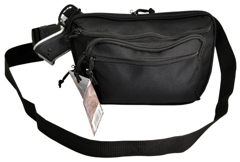 Quick Release Concealed Gun Fanny Pack, Ambidextrous - TACTICAL R US