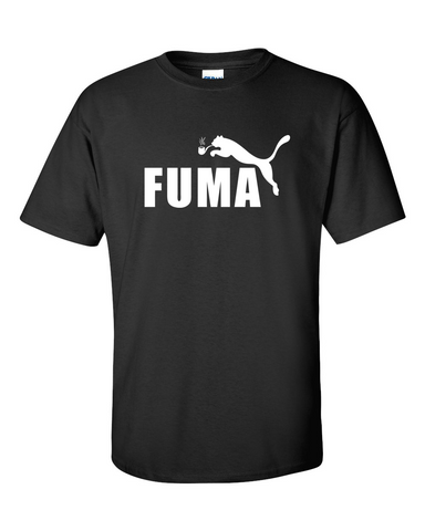 Puma Fuma Funny Men T Shirt Size M L XL - TACTICAL R US