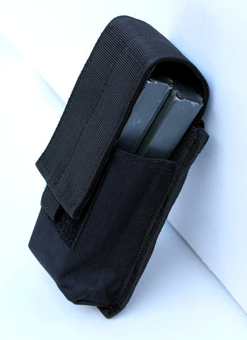 Single Mag Pouch Mag Holder Adjustable Hook and Loop Flap With MOLLE Strap - TACTICAL R US