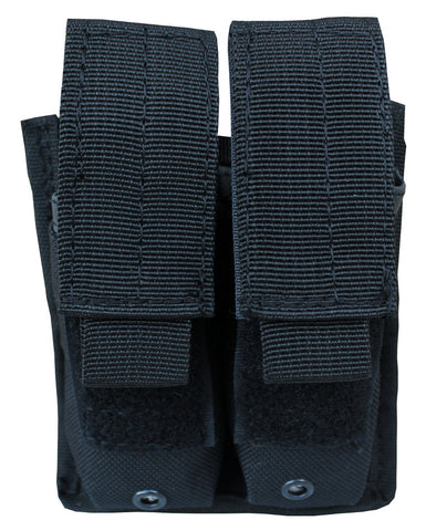 Double Pistol Mag Pouch Mag Holder with Molle Straps Velcro - TACTICAL R US