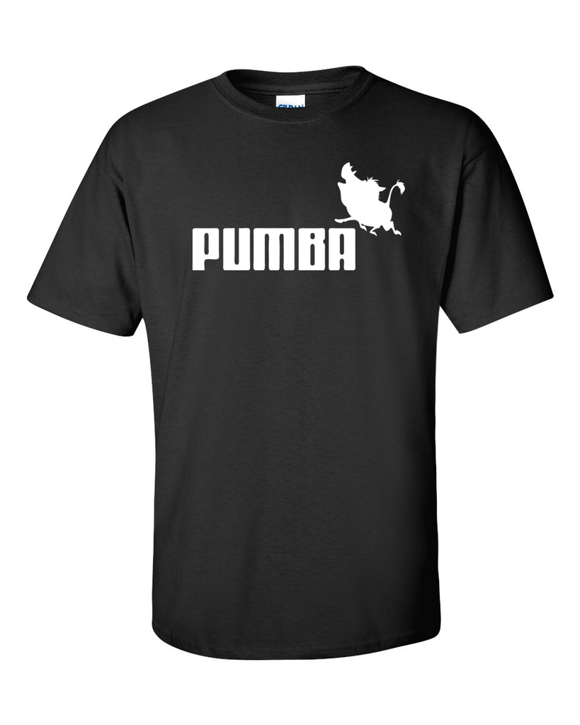Pumba Puma Parody Funny Men T Shirt Size M L XL - TACTICAL R US