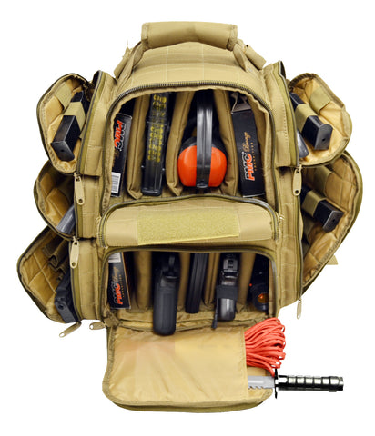 Ultimate Deluxe Tactical Range Backpack Polyester 1200D Heavy Duty - TACTICAL R US