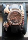 Valletta Women Watch Quartz Japan Movement with 2 Bracelets FMDCT567A - TACTICAL R US