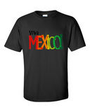 Viva Mexico Tshirts Graphic T Shirt Multicolor Text Men Unisex Tee Size M, L, XL - TACTICAL R US