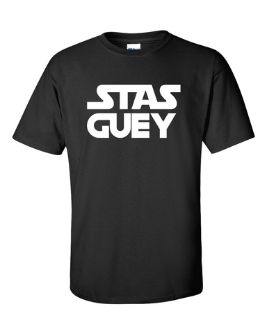 Star Wars Funny T-shirt Stas Guey Graphic Tee Men's Size M Medium L Large - TACTICAL R US