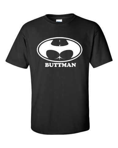 Men's Buttman Parody T-shirt Sizes M L XL - TACTICAL R US