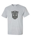Graphic Tee Classic Autobot Transformers T-shirt Metallic Look Men's Size M Medium, Large - TACTICAL R US