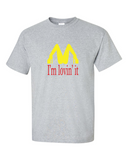 New Mcdonald's Logo Sexy Legs Basic T-shirt Men's Size L Large M Medium Tee - TACTICAL R US