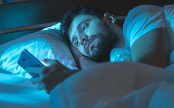 Can Blue Light Cause Insomnia and Does Blue light Therapy for Insomnia Work?-BlockBlueLight