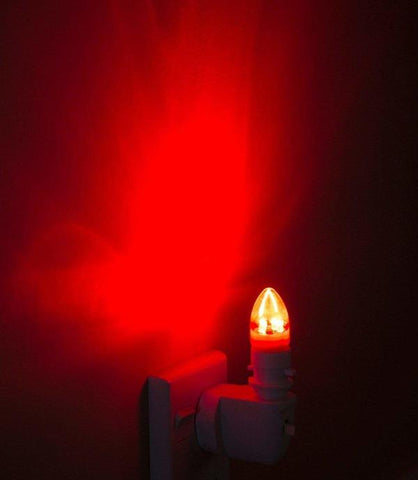 red night light